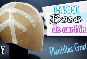 Casco Base De Cartón