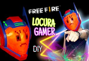 Casco Locura Gamer Free Fire