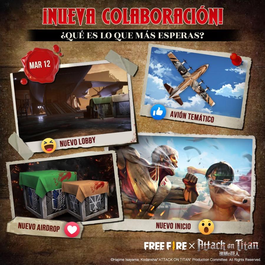 Conviértete en Titán en Free Fire